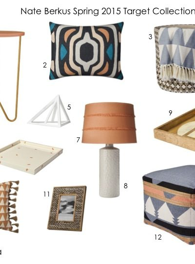 Spring 2015 Target Home Collection – Nate Berkus + A Pop of Colour
