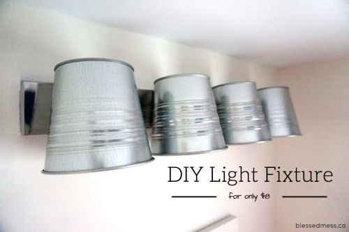 DIY Light Fixture Cover Image