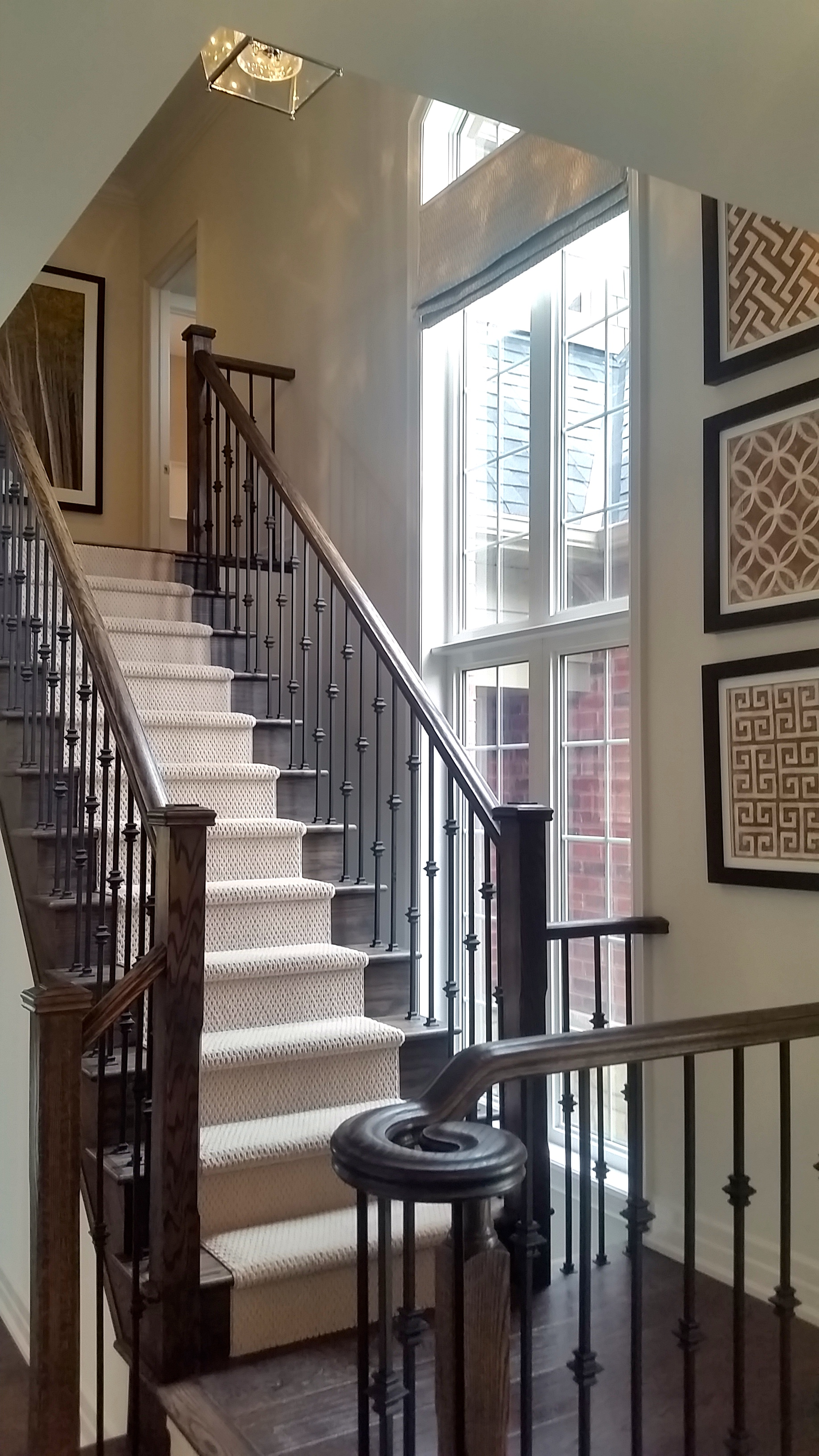 I liked the placement of this staircase.