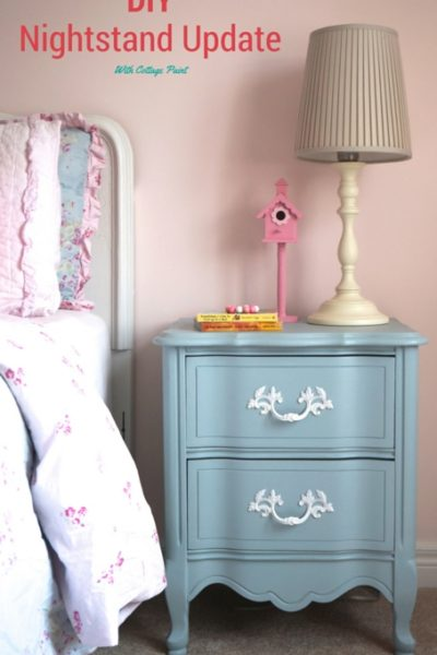 DIY Nightstand Update With Cottage Paint