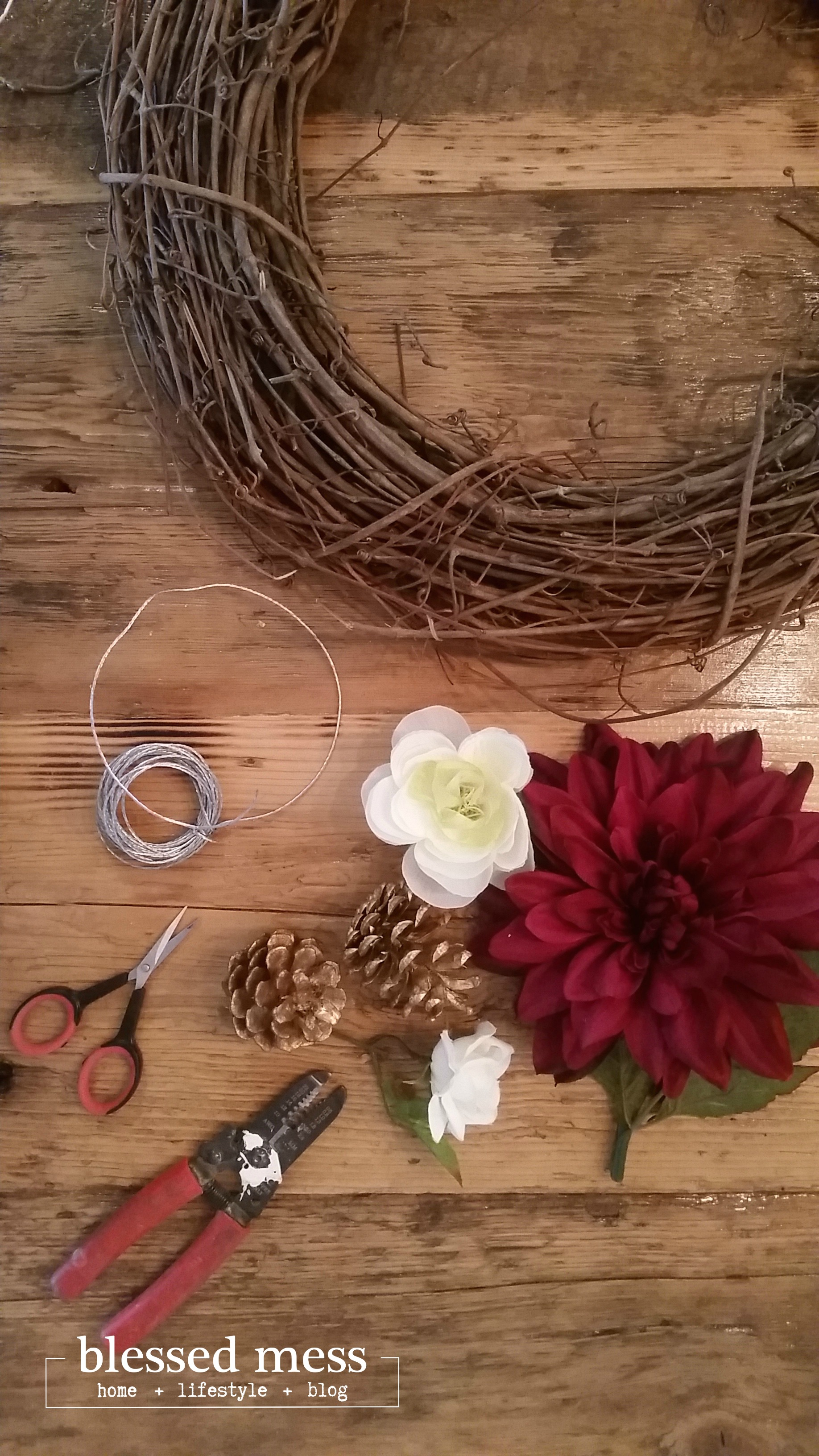 Fall 15 Wreath Supplies