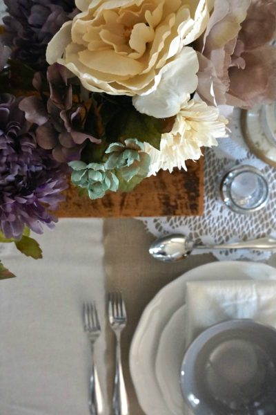 Fall 2015 Thanksgiving Tablescape