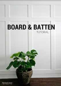 Board & Batten Tutorial