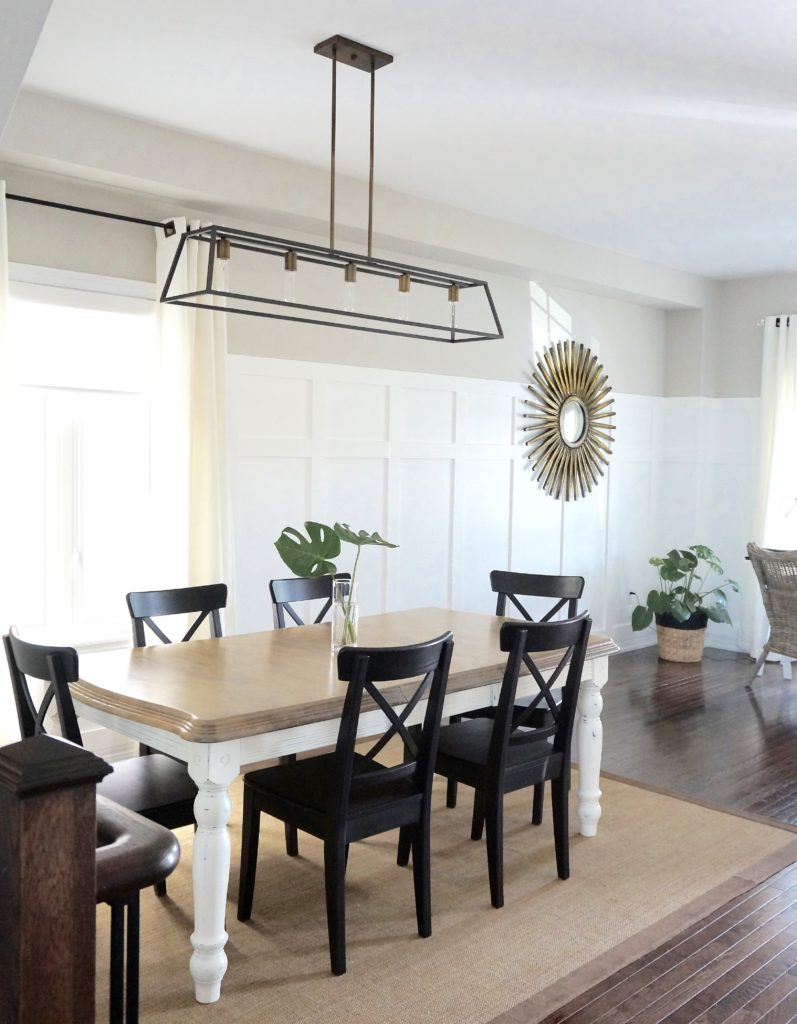 Simple Summer Dining Room 1