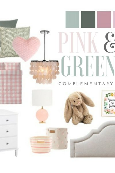 Pink and Green Girls Bedroom Inspiration