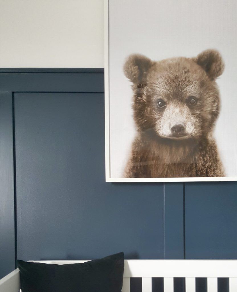Modern Bear Woodland Nursery Reveal