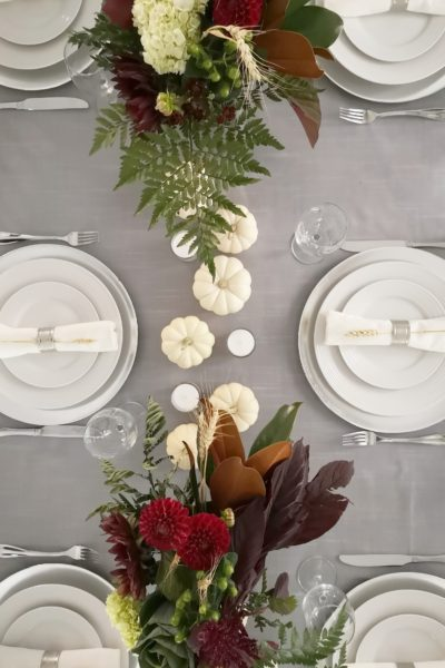 Our Simple Thanksgiving Tablescape 2018