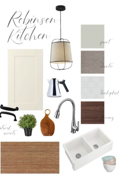 Kitchen Mood Board Inspiration